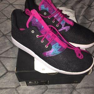 NIB NEW Nike Jordan eclipse sneakers 8Y PINK BLACK